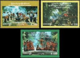 71 Years Of Independence (MNH) - Myanmar (Burma 1948-...)