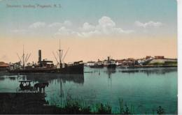 AK 0136  Steamers Loading - Pugwash N. S.  ( Canada ) Ca. Um 1910 - Steamers