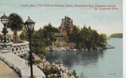 """AK 0137  Thousend Islands - """" Castle Rest """" / The Pullmann Summer Home - Alexandria Bay , St. Lawrence River 1910 - Toronto"""