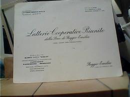 LATTERIE RIUNITE  REGGIO EMILIA BIGLIETTO 1920 HA7396 - Cartoncini Da Visita