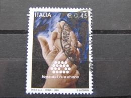 *ITALIA* USATI 2004 - LEGA DEL FILO D'ORO - SASSONE 2781 - LUSSO/FIOR DI STAMPA - 6. 1946-.. Repubblica