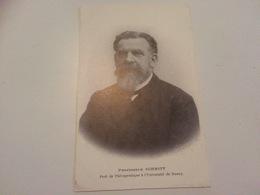 BM - 1300 - Professeur SCHMITT - Prof.de Thérapeutique à L'Université De Nancy - Métiers