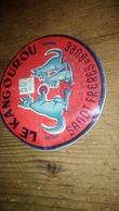 Étiquette Fromage Le Kangourou Sandt Frères Bure  Meuse Lorraine Animal - Fromage