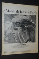 05/ Coupure De Presse-clipping - 1 Pages - Année 1968 - Brigitte BARDOT - Livres, BD, Revues