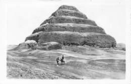 Carte - Photo - Pyramide De Saqqarah - Pyramids