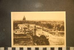 CP, 75, PARIS, A.C 23, PARIS Le Pont Alexandre III Et Les Invalides - Ponti