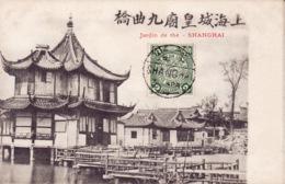 Shanghai, Teagarden, Jardin De Thé, Stamp ,  2 Scans - Chine
