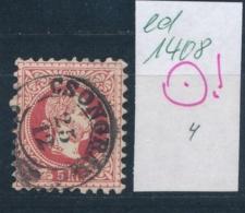 Österreich-Klassik...-netter Stempel.....   (ed1408  ) Siehe Scan -vergrößert - 1850-1918 Empire