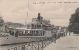 """74 - ANNECY - Le Nouveau Bateau """"France Au Port"""" - Annecy"""