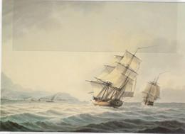 CN6 - RESOLUTION Et DISCOVERY De James COOK Vers Les Côtes De TAHITI - By SAMUEL ATKINS - NATIONAL MARITIME MUSEUM - Autres