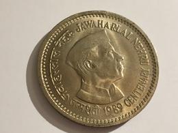 273/ Inde 5 Rupees 1989 - India