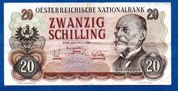 Autriche  - 20 Schilling  -  2/7/1956 -  état  TTB - Oesterreich