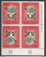 Panama - 1967 Cat 30c Corner Tete Beche Block MNH **       Sc C355 - Panama