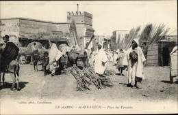 Cp Marrakesch Marokko, Place Des Vanniers - Maroc