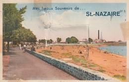 Rare Cpa St-Nazaire Carte à Système - A Systèmes