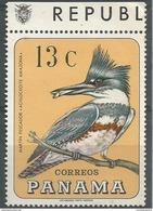 Panama - 1967 Kingfisher 13c  MNH **       Sc 478E - Panama