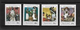 TRANSKEI 1990 DEVINS ET SORCIERS  YVERT N°254/57  NEUF MNH** - Transkei