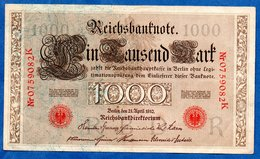 Allemagne  -  1000 Mark   21/4/1910  -  Pick # 44  -  état  TTB - [ 2] 1871-1918 : German Empire