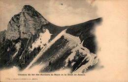 Chemin De Fer Des Rochers De Naye Et La Dent De Jaman - VD Vaud