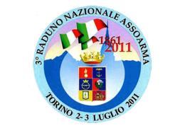 [MD2616] CPM - 3° RADUNO NAZIONALE ASSOARMA - TORINO - TIRATURA LIMITATA 50 COPIE - CON ANNULLO 2.7.2011 - Non Viaggiata - Patrióticos