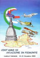 [MD2618] CPM - RADUNO NAZIONALE ARMA AERONAUTICA - TORINO CASELLE TORINESE - CON ANNULLO 11.6.2011 - Non Viaggiata - Reggimenti