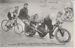 19 / 1 / 372. -  NOS  STAYERS  ET  LEURS  ENTRAINEURS  -  REPRO - Ciclismo