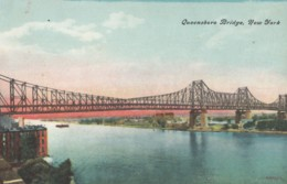 CPA - New York - Queensboro Bridge - Ponts & Tunnels