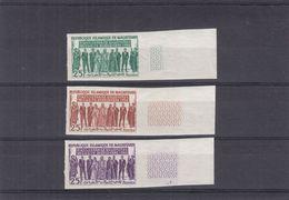 Mauritanie - Yvert 163 ** - épreuves De Couleurs NON Dentelés - 4 Ième Anniversaire Du Congrès De L'Unité - Mauretanien (1960-...)