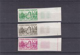 Mauritanie - Yvert 167 ** - épreuves De Couleurs NON Dentelés - 2 Ième Anniversaire De L'Indépendance - Mauretanien (1960-...)