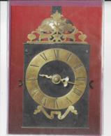 Horloge Contoise à Aiguille Unique  Portant Inscription Pierre Claude Mayet à Morbier - Artisanat
