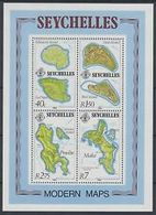 90479)  Seychelles MINISHEET  IND-mappe, 1982 Moderno, Le Isole -MNH** BF19 - Seychelles (1976-...)