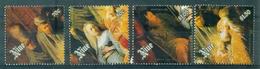 NIUE   N° 547 / 550 N Xx Série TABLEAUX Noel 89 TB Cote : 22 €. - Niue