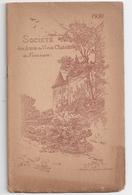 """Annuaire 1930 """"Société Des Amis Du Vieux Château De Nemours"""" -compte-rendu 1929/1930 - Ile-de-France"""