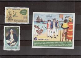 CN7 - HAWAÏ POST 2003 - 225ème Anniversaire JAMES COOK à HAWAÏ - Timbres Et Blocs ** MNH - 8 Scans - - Hawaï