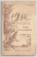 """Annuaire 1931 """"Société Des Amis Du Vieux Château De Nemours"""" -compte-rendu - Ile-de-France"""