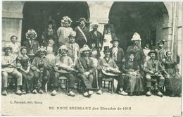 Bourg; Noce Bressane Des Ebaudes De 1913 - Non Voyagé. (L. Ferrand - Bourg) - Bourg-en-Bresse