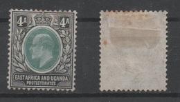 East Africa And Uganda, 1904,  MH, Michel 22 - Kenya, Uganda & Tanganyika