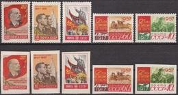 Russia USSR.1957  Set.10v.** MNH  ANIMALS - 1923-1991 USSR