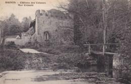 77 - SAINTS - Château Des Coteaux- Mur Crénelé. - France