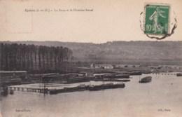 78 - EPÔNE - La Seine Et Le Chantier Naval. - Epone