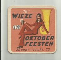 Wieze 1973 Brasserie De Brabandere - Bierdeckel