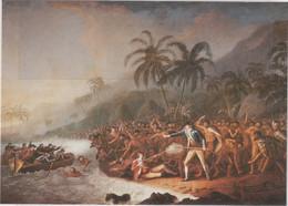 CN5 - Mort De JAMES COOK By John WEBBER - Carte Neuve - PUBLIC LIBRARY Of NEW SOUTH WALES - - Hawaï