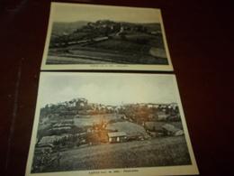 B712   2 Cartoline Vargo Stazzano Alessandria Pieghine Angoli Non Viaggiate - Italia