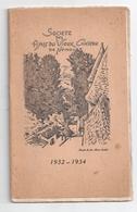 """Annuaire 1934 """"Société Des Amis Du Vieux Château De Nemours"""" -compte-rendu 1932/1934 - Ile-de-France"""