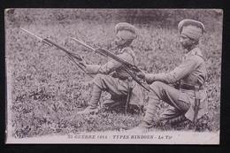MILITARIA - Carte Postale - Type Hindous , Le Tir - L 21432 - Guerre 1914-18