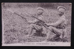 MILITARIA - Carte Postale - Type Hindous , Le Tir - L 21432 - War 1914-18