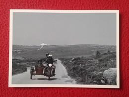SPAIN POSTAL CARTE POSTALE POST CARD POSTCARD SIDECAR MENORCA VE FOTOS Y DESCRIPCIÓN MOTO MOTOCICLETA MOTORCYCLE ESPAGNE - Motos