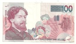 Belgique 100 Francs Ensor - [ 2] 1831-... : Regno Del Belgio