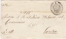 1859: Brief Von Merna Nach Gorizia - 1850-1918 Empire