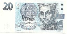 Tchéquie 20 Korun 1994  Superbe - Czech Republic